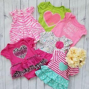 🎀 Bundle of 0-3month Babygirl Clothes